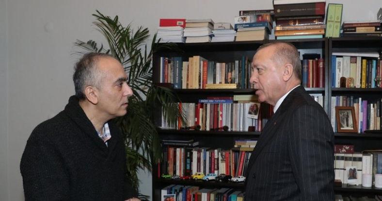 Başkan Erdoğan'dan Markar Esayan mesajı: Ailesine, sevenlerine başsağlığı diliyorum