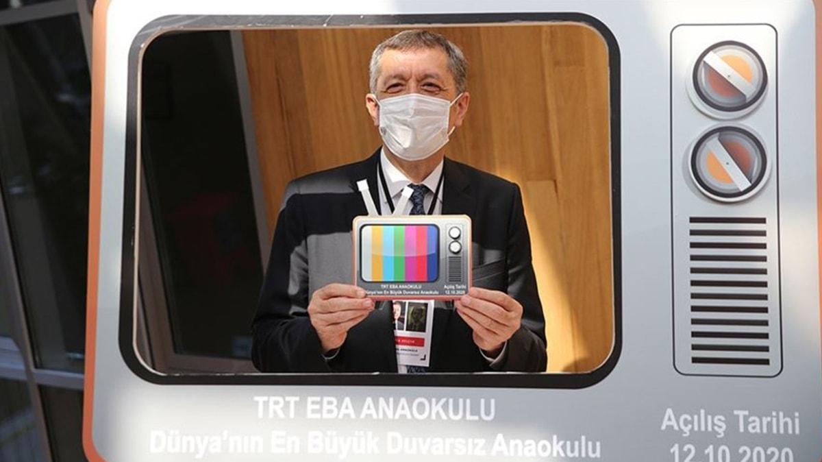 EBA TV Anaokulu açıldı... Bakan Selçuk duyurdu