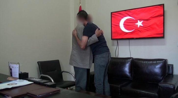 Bir terörist daha ikna çalışmaları sonucu teslim oldu