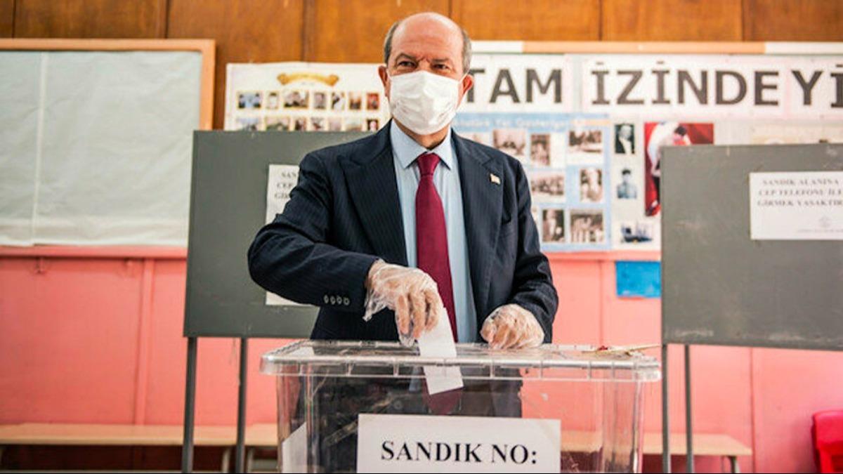 KKTC'de tarihi seçim sona erdi! Kazanan Ersin Tatar oldu