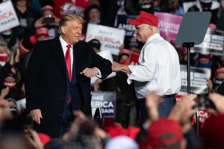 ABD Başkanı Donald Trump, Pensilvanya'da