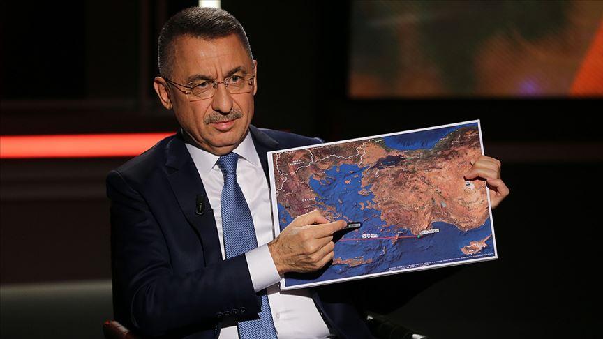 """""""Türkiye ne bir karış toprağını ne de denizindeki bir damla suyunu hiç kimseye vermez"""""""