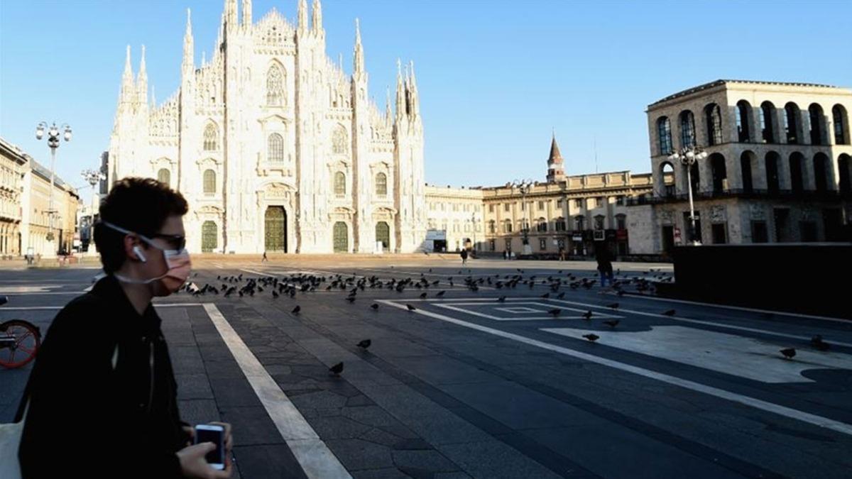Günlük en yüksek vaka sayısına ulaşan İtalya'da 3 bölgede sokağa çıkma yasağı başlıyor