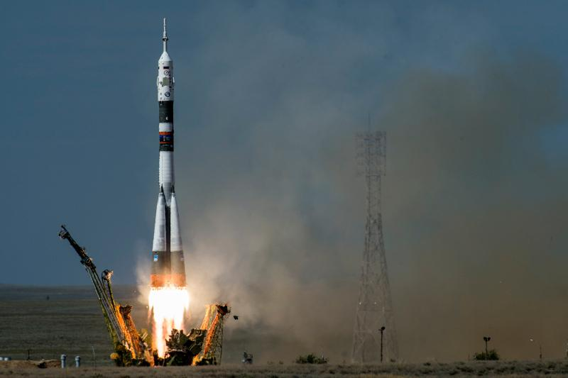 Soyuz MS-16 kapsülü dünyaya döndü