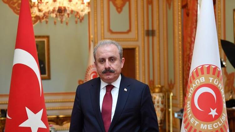 Meclis Başkanı Mustafa Şentop'tan Macron'a tepk: İslam düşmanlıkları ayan olmuştur