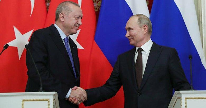 Başkan, Putin ile Karabağ'ı görüştü