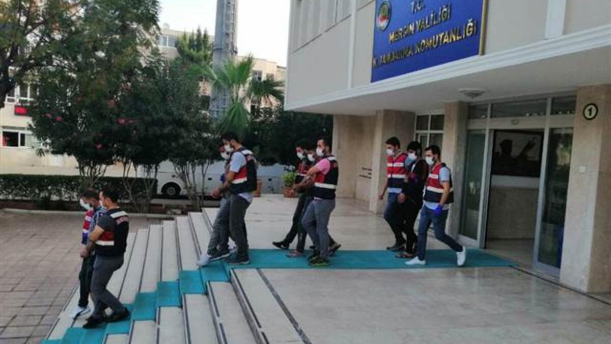 Mersin'de terör operasyonu: 4 zanlı gözaltında