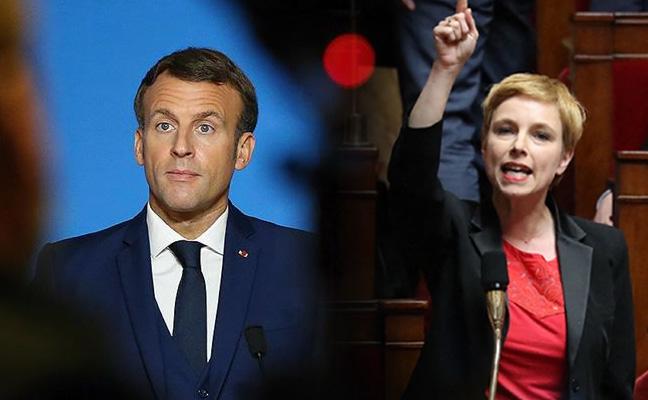 Fransız vekil Macron'u ve siyasetini yerden yere vurdu