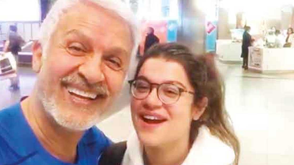 Talat Bulut kızına özlemini böyle duyurdu: Burnumun direği sızlıyor