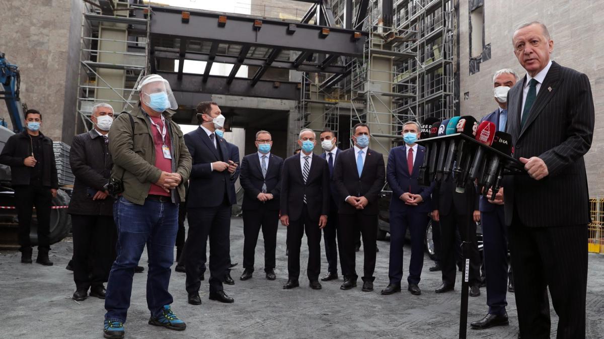 Başkan Erdoğan'dan Mesut Yılmaz'ın ailesine başsağlığı