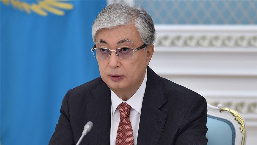 Kazakistan Cumhurbaşkanı Tokayev: Kardeş Türk halkına yardım etmeye hazırız