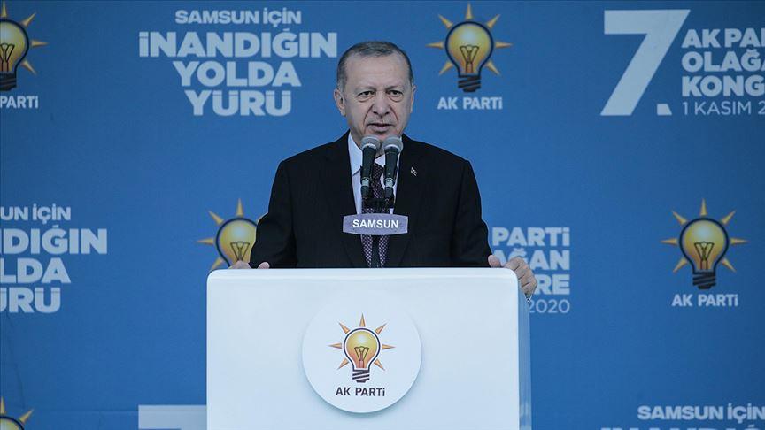 Başkan Erdoğan: Türkiye'yi ekonomi ile alt edemeyecekler