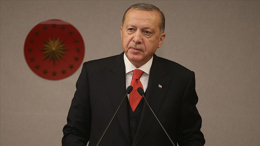 Başkan Erdoğan'dan Burhan Kuzu için başsağlığı mesajı