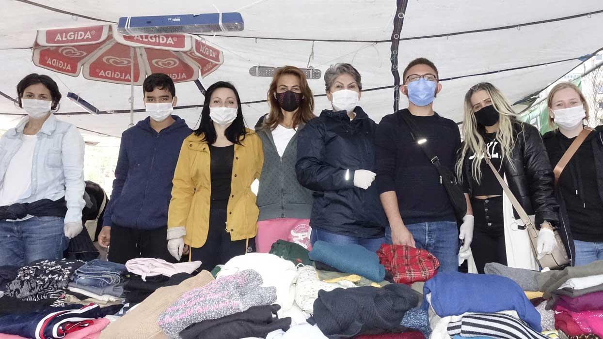 Brezilyalı gönüllüler deprem bölgesinde