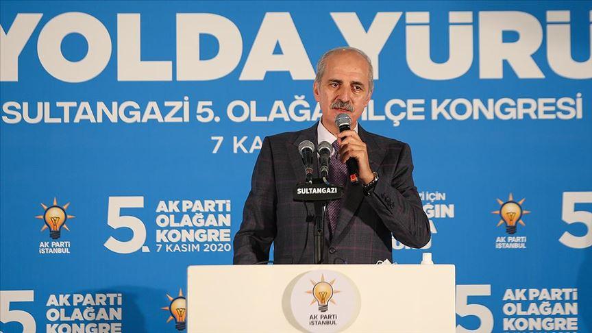 Kurtulmuş: Her türlü imkanla Türkiye'yi durdurmak istiyorlar