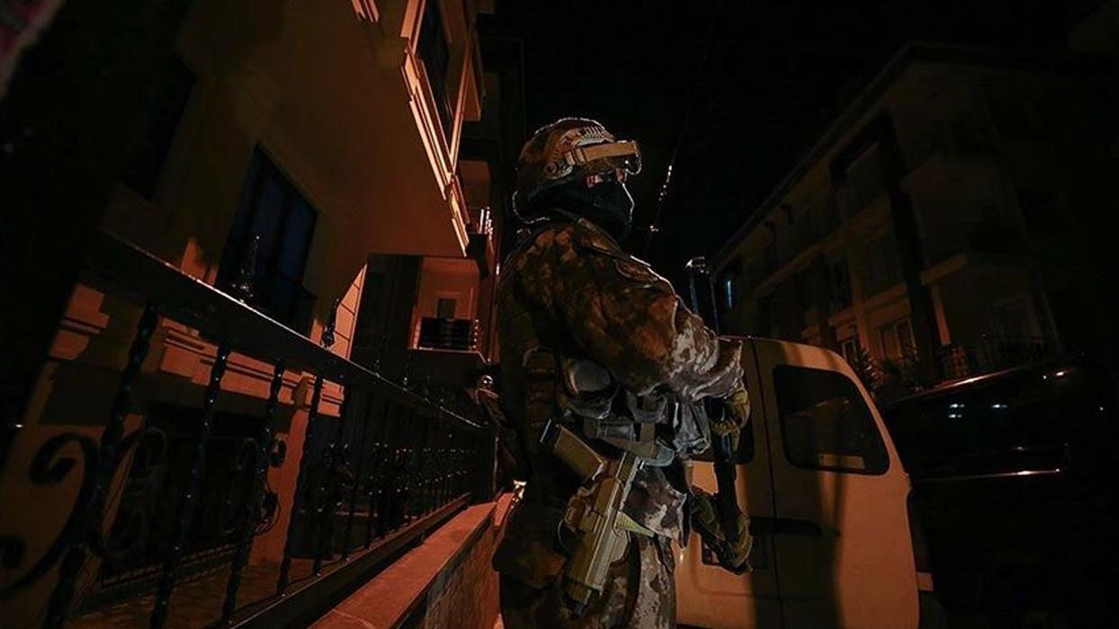 Terör örgütü DEAŞ'a 11 ilde eş zamanlı operasyon
