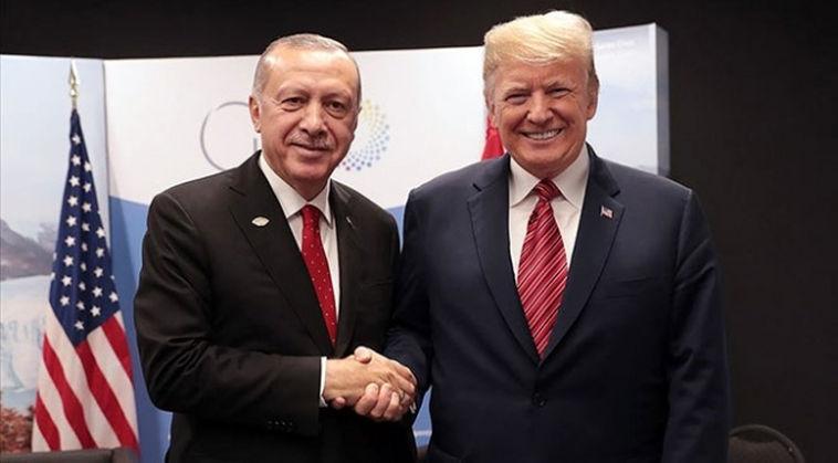 Başkan Erdoğan'dan Trump'a mesaj: ABD halkı için hayırlı olsun