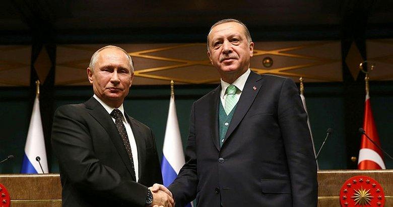 Başkan Erdoğan, Putin ile Karabağ'ı konuştu