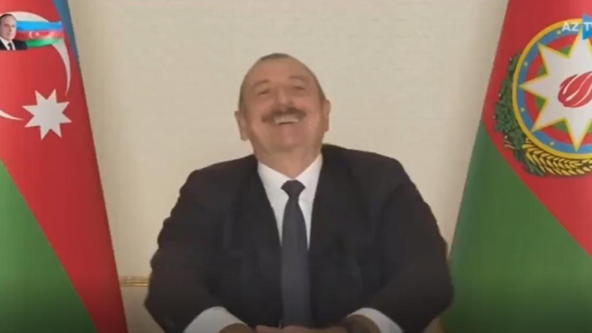 Sosyal medya Aliyev'in o sözlerini konuşuyor: Ne oldu Paşinyan?