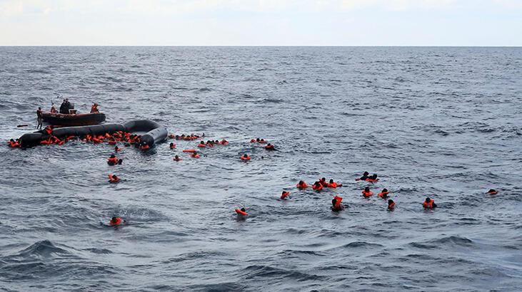 Akdeniz'de göçmenleri taşıyan tekne battı: 74 ölü