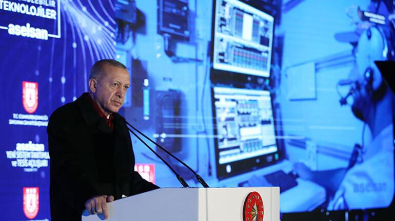 Başkan Erdoğan: Tamamen milli ve yerli mühendislik kabiliyeti ile yapıldı