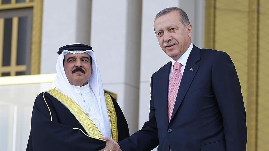 Başkan Erdoğan, Bahreyn Kralı El Halife ile görüştü