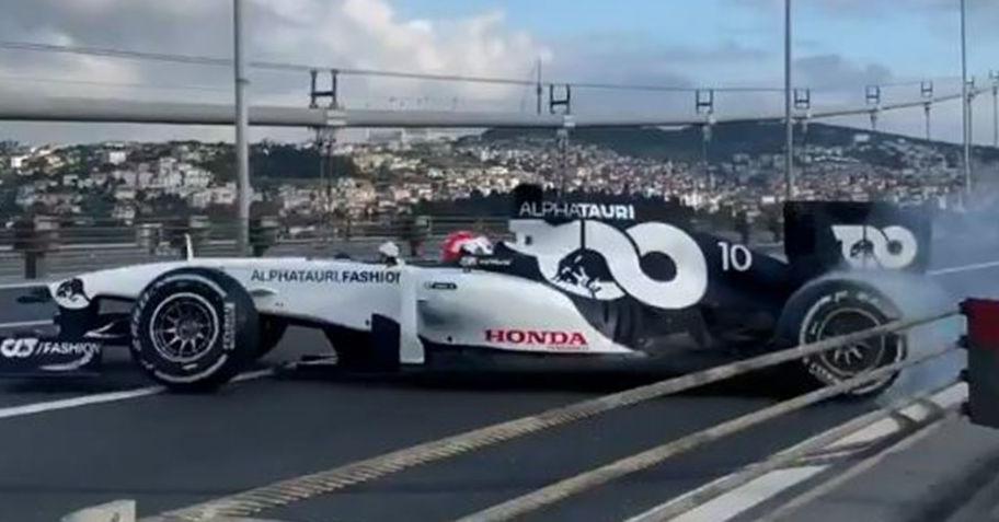 Formula 1'in 'donut' hareketi Türkiye'de 'simit' adını alacak