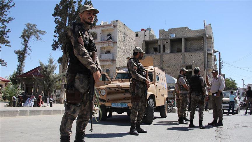 El-Bab'ta bombalı saldırının faili terör örgütü PKK/PYD/YPG üyesi yakalandı