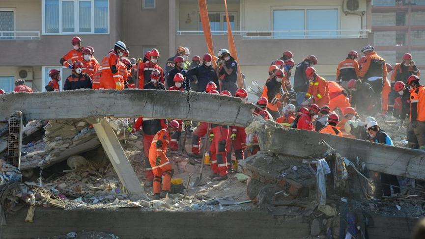 AFAD, İzmir'deki depremle ilgili güncel bilgileri paylaştı