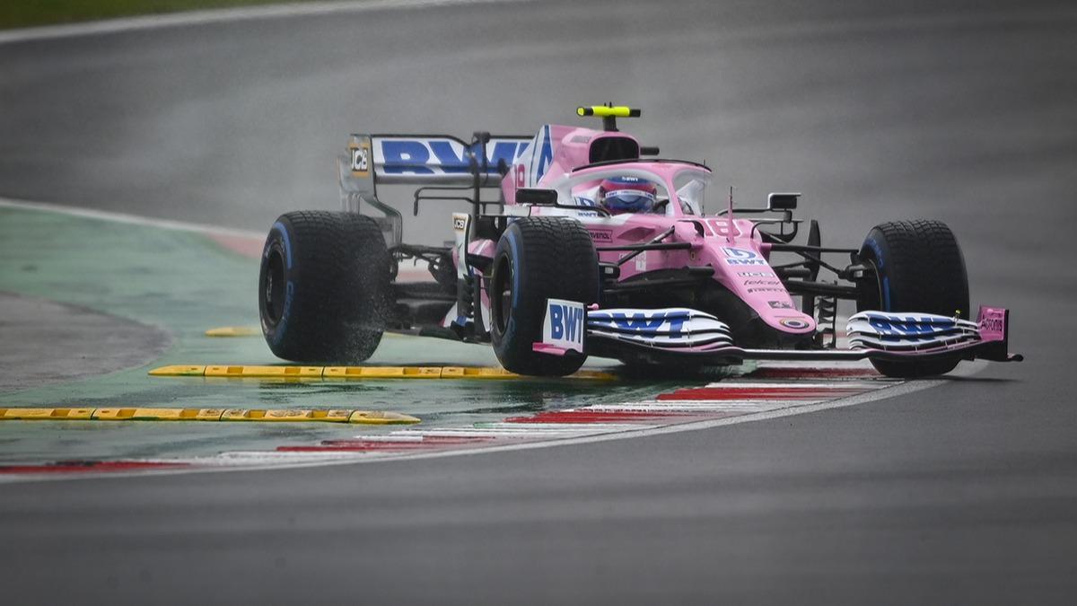 Türkiye Grand Prix'sinde pole pozisyonu Lance Stroll'un
