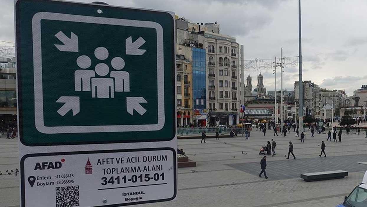 'Türkiye'de 18 bin 910 toplanma alanı bulunmaktadır'