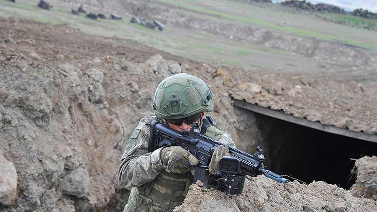 MSB: Teröristlerin sonu çukurlara gömülmektir