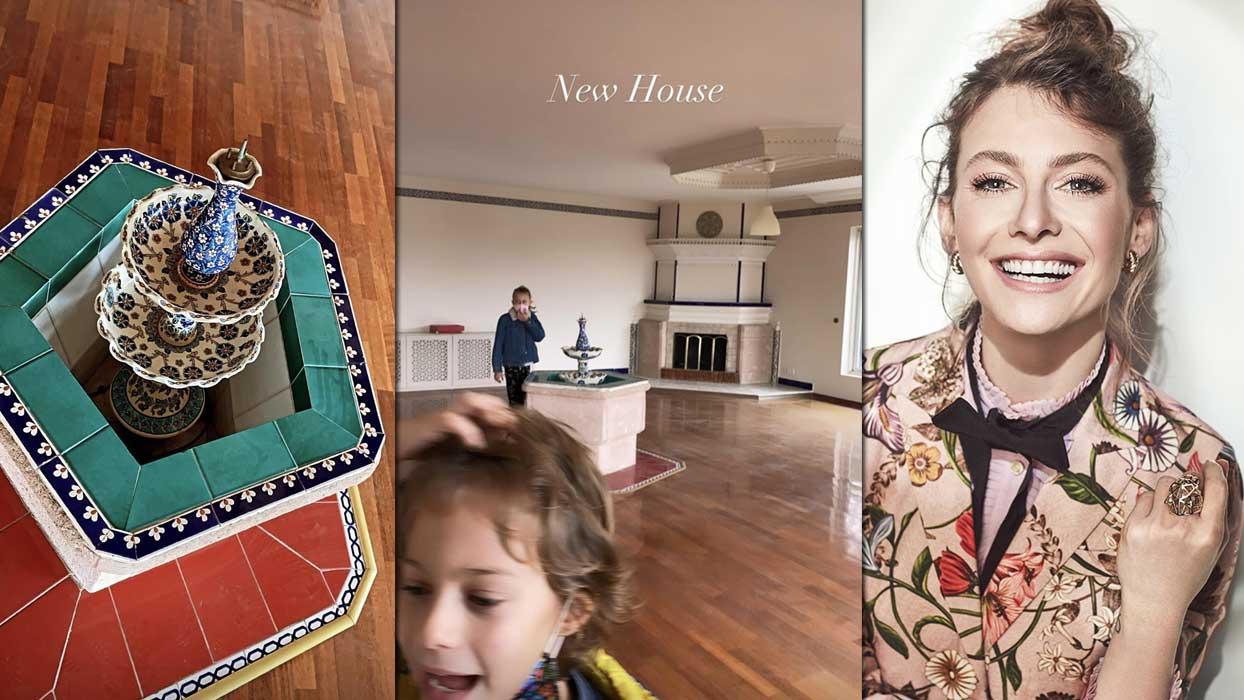 Tuba Ünsal'ın yeni evindeki dikkat çeken detay görenleri hayrete düşürdü