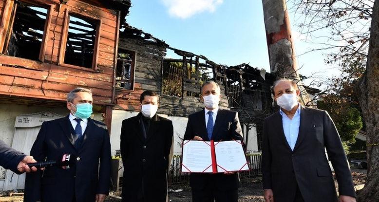 Vali Yerlikaya: Projenin 700 gün, içerisinde tamamlanması bekleniyor