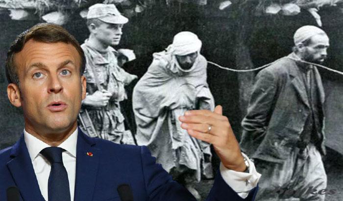 Macron, kirli tarihini unutturmak için yine Türkiye'yi suçladı