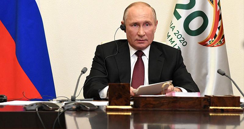 Putin'in G-20 zirvesindeki gündemi koronavirüs ve global ekonomik kriz oldu