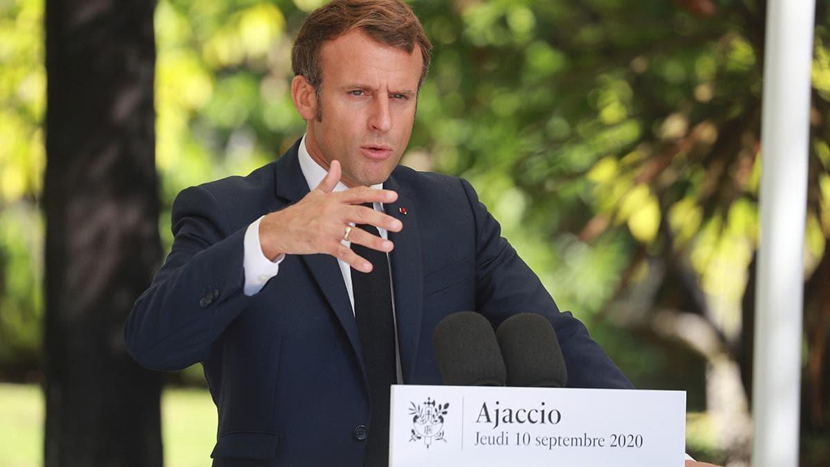 Macron'dan itiraf gibi açıklama!