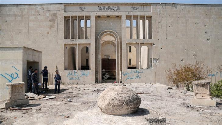 DEAŞ'ın harabeye çevirdiği Musul müzesi 6 yıl aradan sonra yeniden kapılarını açtı