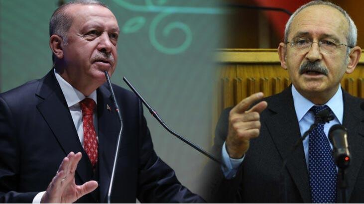 Başkan Erdoğan'dan Kılıçdaroğlu'na 500 bin TL'lik manevi tazminat davası!