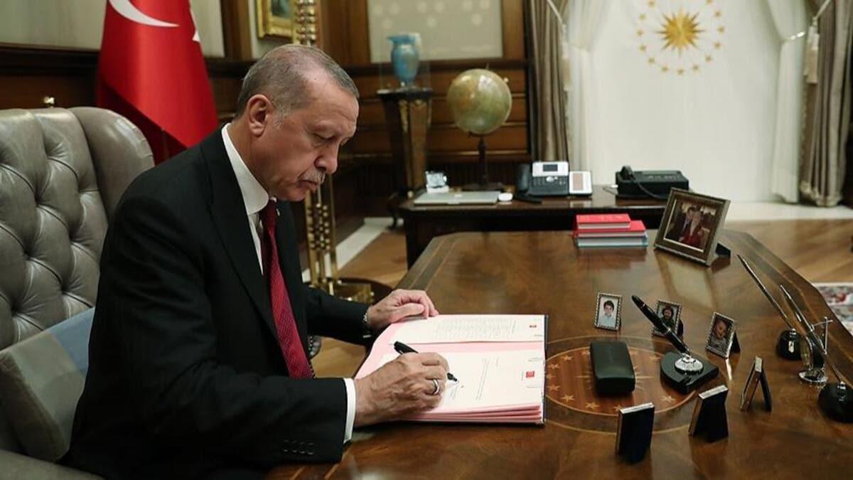 Başkan Erdoğan'ın imzasıyla dört bakanlıkta çok sayıda atama