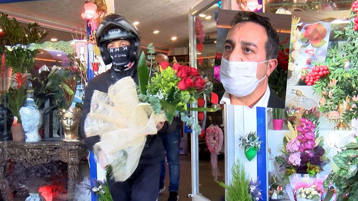 Koronavirüs çiçek satışlarını arttırdı... Evde kavga eden çiftler gönderiyor