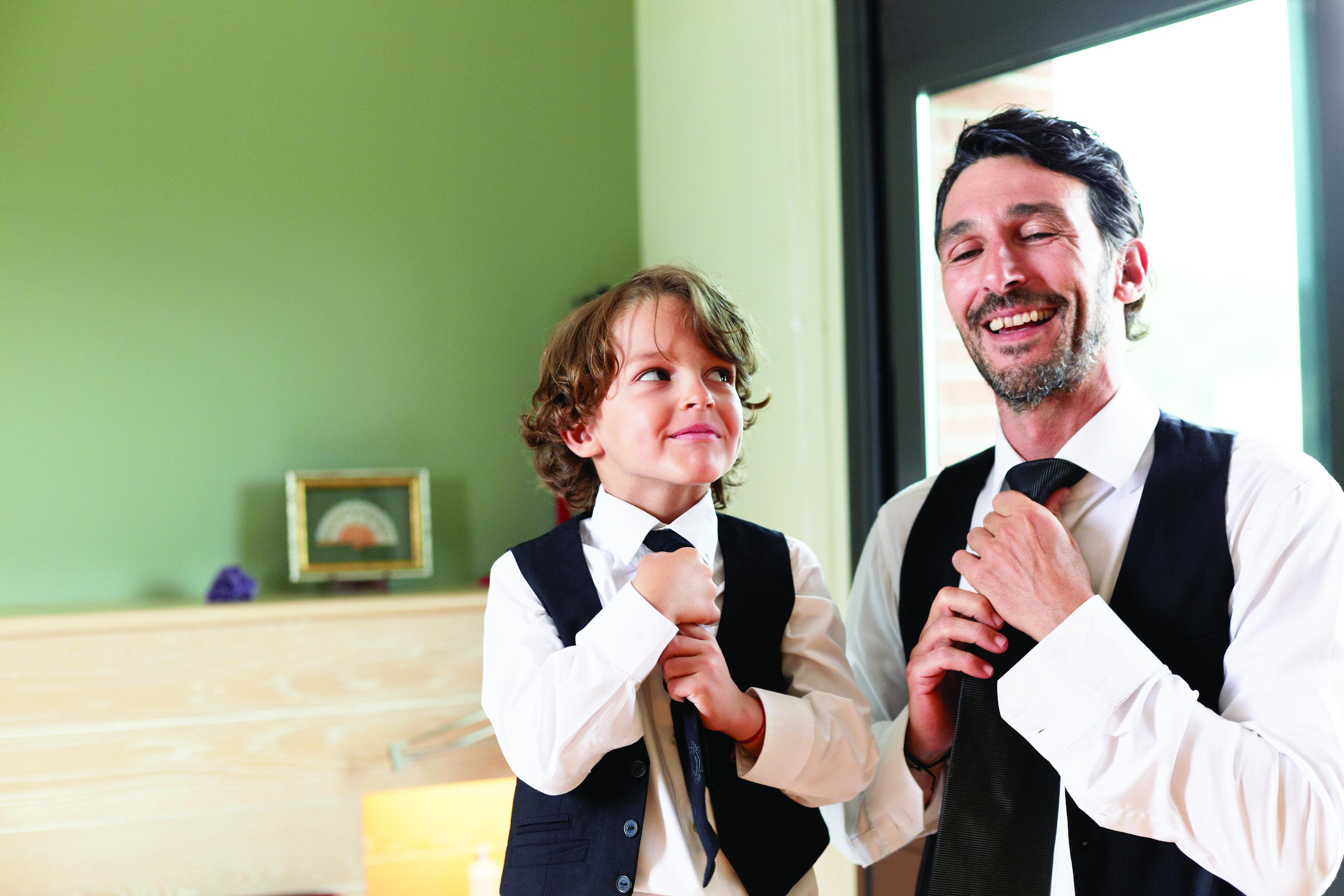 Çocukların rol modeli anne babadır