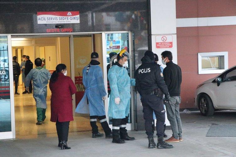 Gaziantep'te hastanenin yoğun bakımında oksijen tüpü patladı