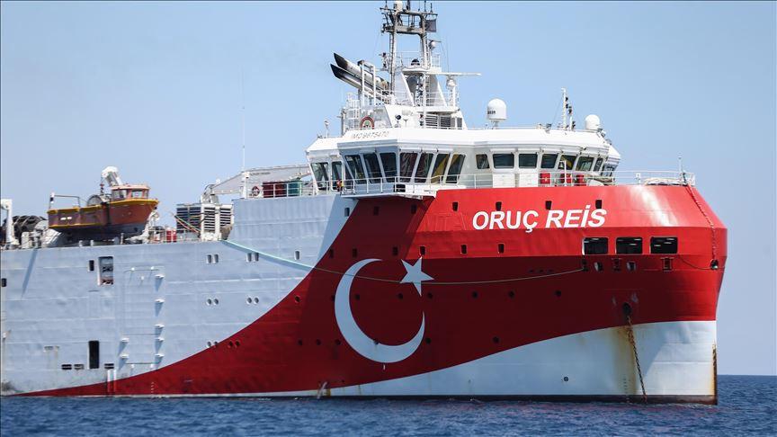 Türkiye'den yeni Navtex: Oruç Reis'in görev süresi uzatıldı