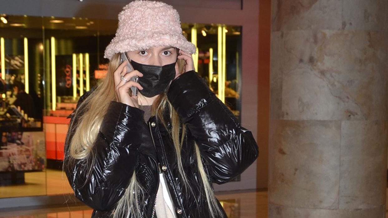 Genç şarkıcı Aleyna Tilki'nin telefon trafiği