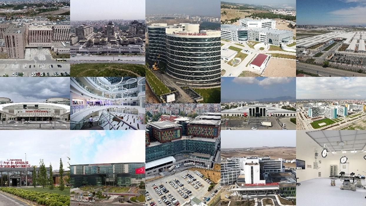 Türkiye'nin Kovid-19'la mücadelesine 2020'de açılan 17 dev hastaneyle büyük katkı