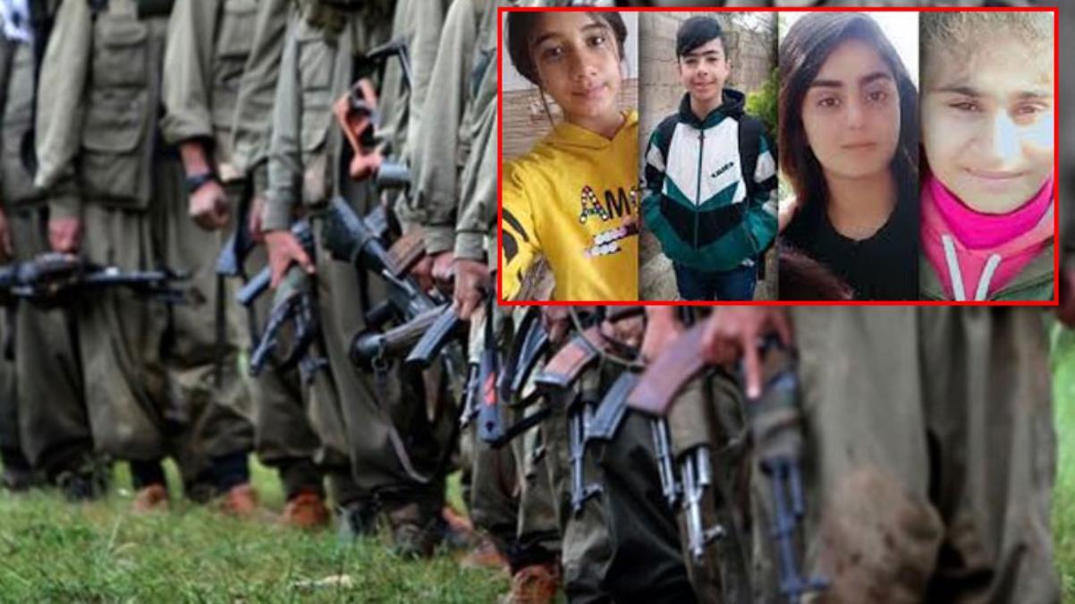 PKK 25 çocuğu daha dağa kaçırdı