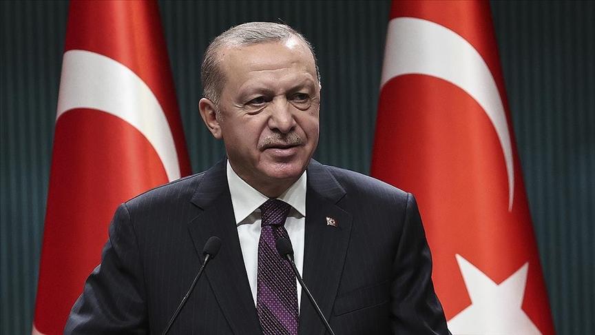 Başkan Erdoğan'dan Türksat 5A paylaşımı