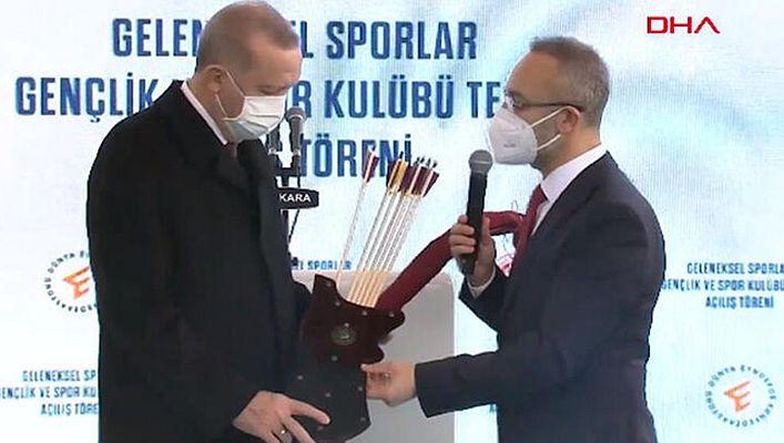 Ankara'ya yeni spor tesisi... Başkan Erdoğan'dan önemli mesajlar