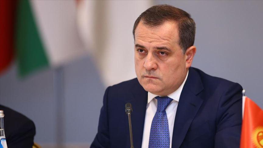 Azerbaycan Dışişleri Bakanı Bayramov: Kurtardığımız toprakların yeniden inşasına davet ediyorum